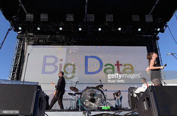 Big Data performs during the 2015 Life is Beautiful festival on September 26 2015 in Las Vegas Nevada