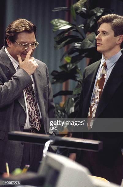 RADIO Big Day Episode 5 Pictured Stephen Root as Jimmy James Dave Foley as Dave Nelson Photo by Rory Flynn/NBCU Photo Bank