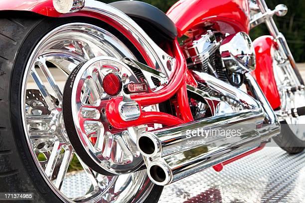 Big Dog custom chopper motorcycle