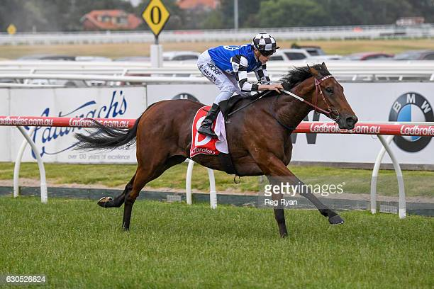 Big Duke ridden by Ben Allen wins Dennis Hanrahan Handicap at Caulfield Racecourse on December 26 2016 in Caulfield Australia