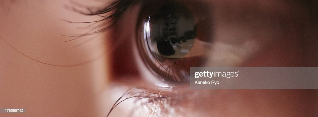 Big eye. : Stock Photo