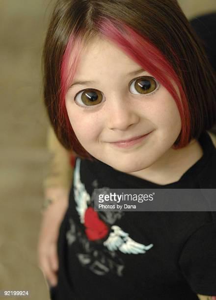 Big eyed girl