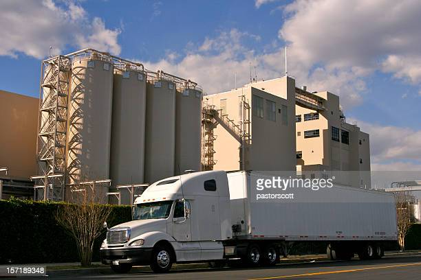 巨大な工場貨物陸運海運送迎