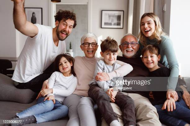 big family - large family stock pictures, royalty-free photos & images