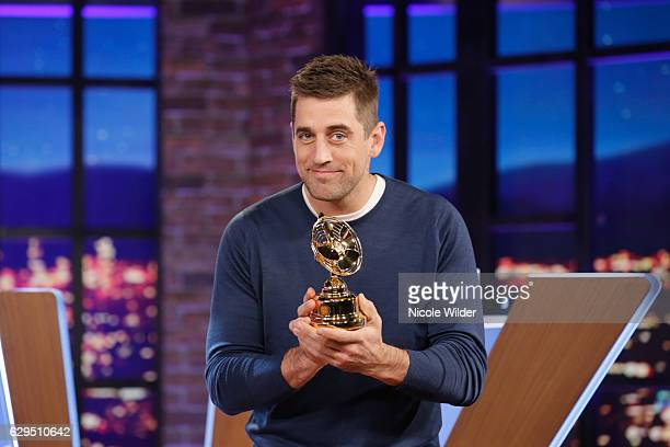 BIG FAN 'Big Fan Aaron Rodgers' airs MONDAY JANUARY 9 on the ABC Television Network Three football buffs step up to challenge Green Bay Packers'...