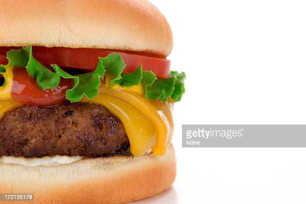 big fat cheeseburger - juicy stock pictures, royalty-free photos & images