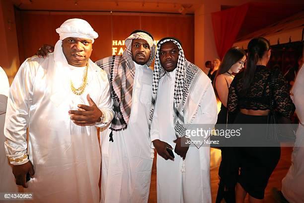 Big Fendi Obie and KMack attend Fabolous' A Night In FABU DHABI Birthday Celebration on November 18 2016 in New York City