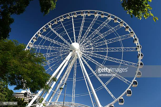 big ferris wheel - brisbane stock pictures, royalty-free photos & images