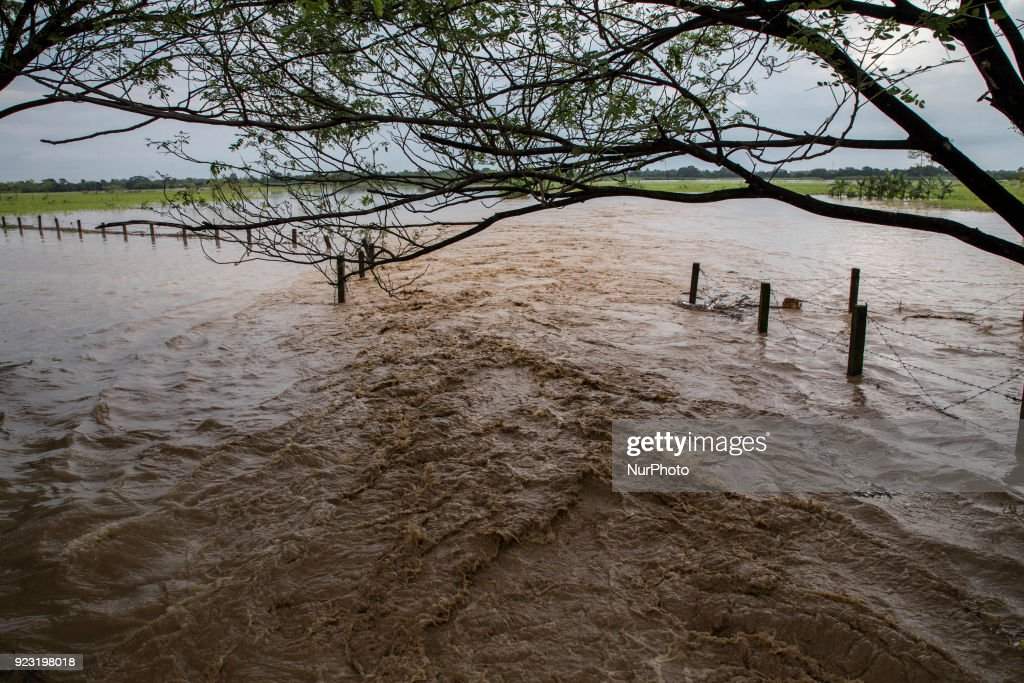 Large floods hit Brebes in Central Java