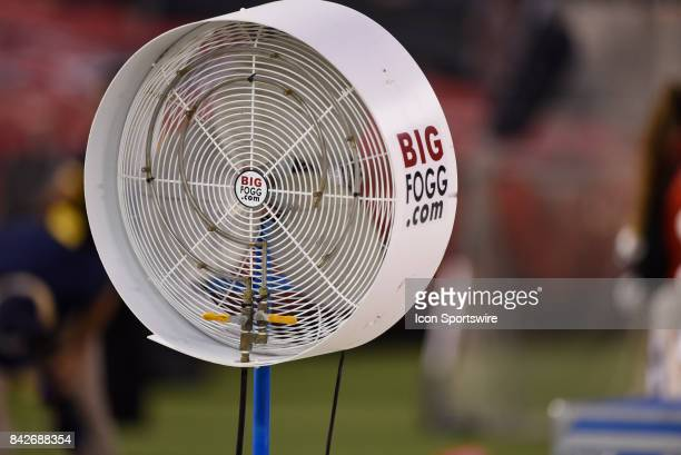 Big Foggcom fan during the college football game between UC Davis Aggies and San Diego State University Aztecs on September 02 2017 at Qualcomm...