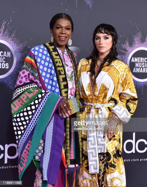 Big Freedia and Kesha attend the 2019 American Music Awards at Microsoft Theater on November 24 2019 in Los Angeles California