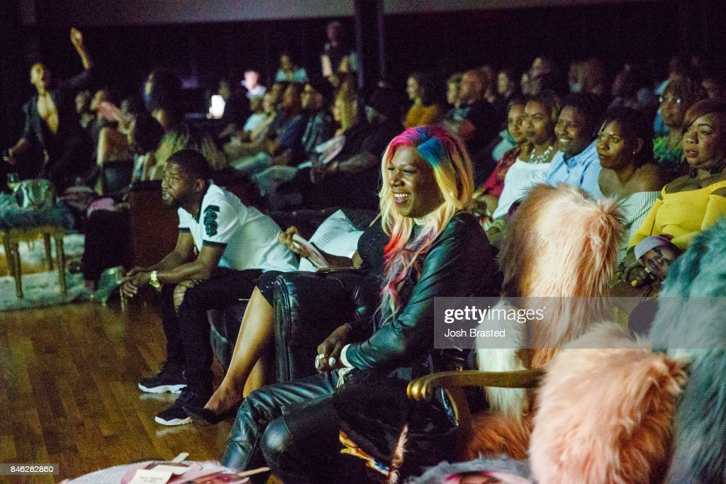Big Freedia (C) attends a screening of 'Big Freedia Bounces Back' airing Tuesdays on Fuse @ 10/9c at the Ace Hotel on September 12, 2017 in New Orleans, Louisiana.