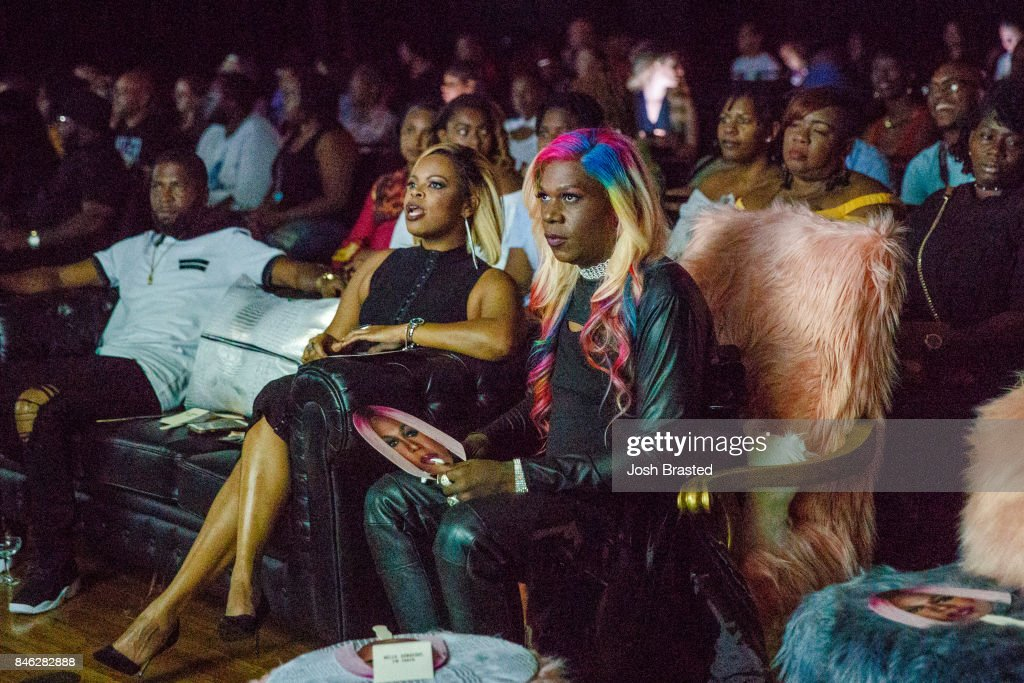 Big Freedia (R) attends a screening of 'Big Freedia Bounces Back' airing Tuesdays on Fuse @ 10/9c at the Ace Hotel on September 12, 2017 in New Orleans, Louisiana.