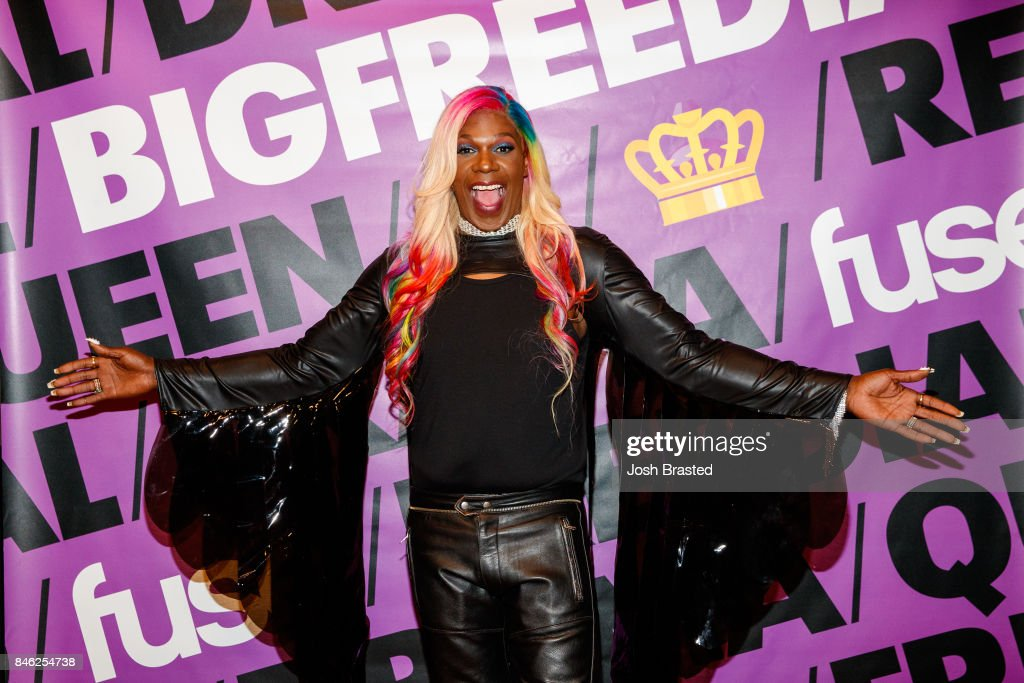 Big Freedia poses at the premiere of 'Big Freedia Bounces Back' airing Tuesdays on Fuse @ 10/9c at the Ace Hotel on September 12, 2017 in New Orleans, Louisiana.