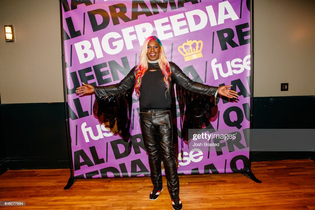 Big Freedia poses for a photo at a screening of 'Big Freedia Bounces Back' airing Tuesdays on Fuse @ 10/9c at the Ace Hotel on September 12, 2017 in New Orleans, Louisiana.