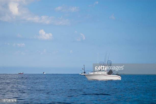 big game fishing boat - big game fishing stock photos and pictures