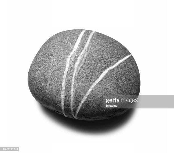 big grey stone - stone object stock pictures, royalty-free photos & images