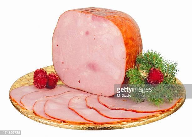big ham - glazed ham stock pictures, royalty-free photos & images