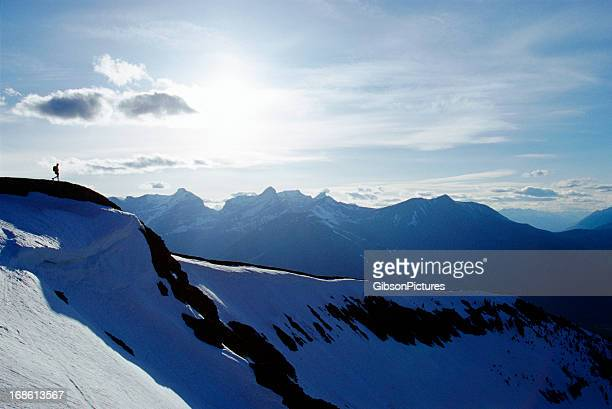 big hike - kananaskis country stock pictures, royalty-free photos & images