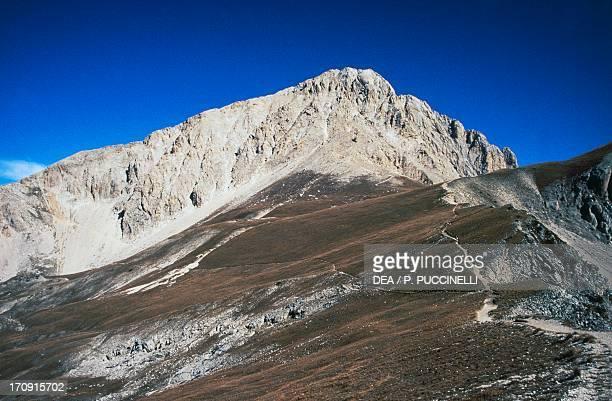 Big Horn Gran Sasso, Gran Sasso and Monti della Laga National Park, Abruzzo, Italy.