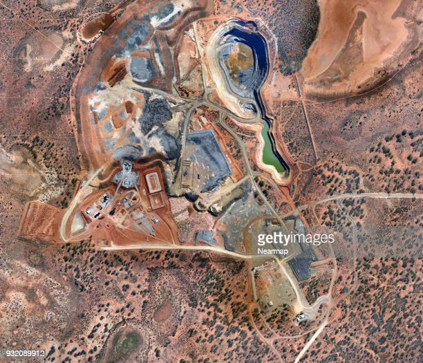 big industrial mining australia - western australia stock photos and pictures