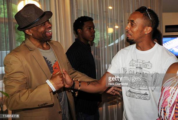 Big Jim Wright Monique show and Producer Dallas Austin attend Unbeatable - Beatthang by Dallas Austin Launch Event at Private Residence on May 27,...