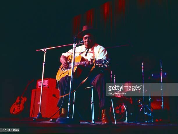 Big Joe Williams performing with American Folk Blues Festival Copenhagen Denmark 1972