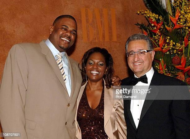 Big Jon Platt, Executive Vice President, Urban Music, U.S, Catherine Brewton, BMI Vice President Writer/Publisher Relations and Del R. Bryant,...