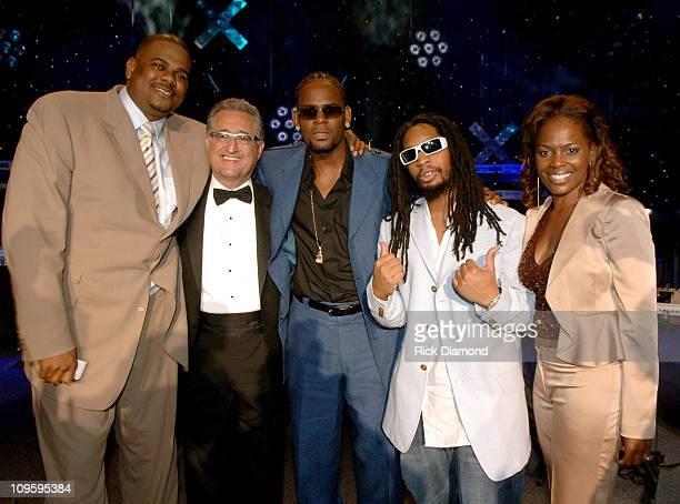 Big Jon Platt, Executive Vice President, Urban Music, U.S., Del R. Bryant, President/CEO BMI, R. Kelly, Lil' Jon and Catherine Brewton, BMI Vice...