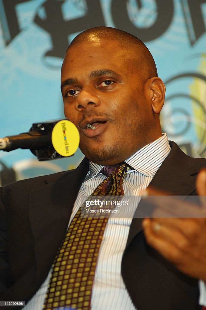 Big Jon Platt participates in the panel discussion on 'The Ear Behind the Music' during the Billboard R&B Hip-Hop Conference at the Renaissance Hotel on November 30, 2007 in Atlanta, Georgia.
