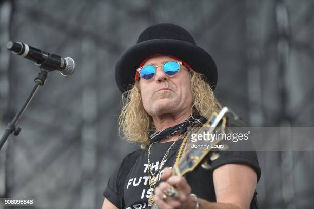 Big Kenny Alphin of Big Rich performs onstage at the 33rd Annual Kiss 999 Chili Cookoff at CB Smith Park on January 20 2018 in Pembroke Pines Florida