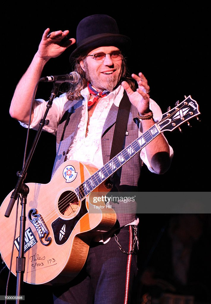 Big Kenny Alphin performs during the Music Saves Mountains benefit concert at the Ryman Auditorium on May 19, 2010 in Nashville, Tennessee.