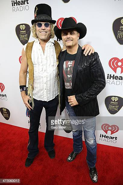 Big Kenny and John Rich attend the iHeartRadio Country Festival at The Frank Erwin Center on May 2 2015 in Austin Texas