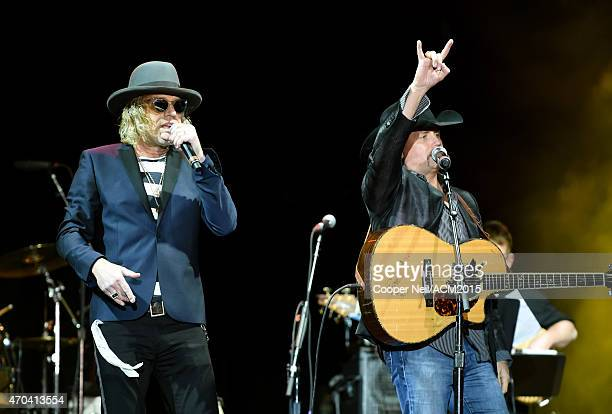 Big Kenny and John Rich of Big Rich perform onstage during the 50th Academy Of Country Music Awards All Star Jam at ATT Stadium on April 19 2015 in...