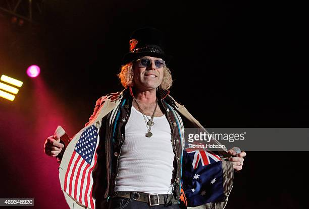 Big Kenny of Big and Rich performs at Country Thunder Arizona 2015 on April 10 2015 in Florence Arizona