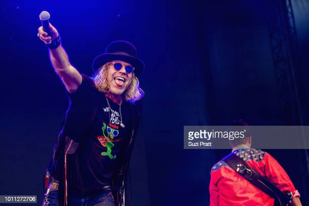 Big Kenny of Big and Rich performs at Watershed Festival at Gorge Amphitheatre on August 4 2018 in George Washington