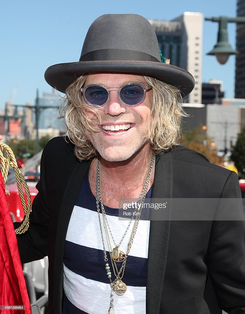 Big Kenny of country music duo Big & Rich attends the Big & Rich 'Ride Of Fame' Induction Ceremony at Pier 78 on September 26, 2014 in New York City.