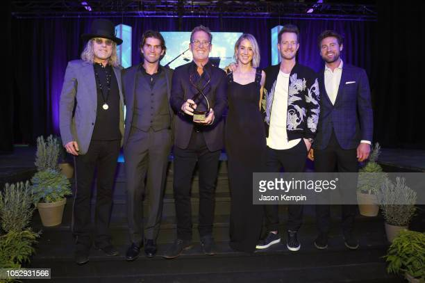 Big Kenny of musical duo Big Rich owner and CEO of Onsite Miles Adcox Live Nation's President of Country Touring Brian O'Connell Hayley Hubbard Tyler...