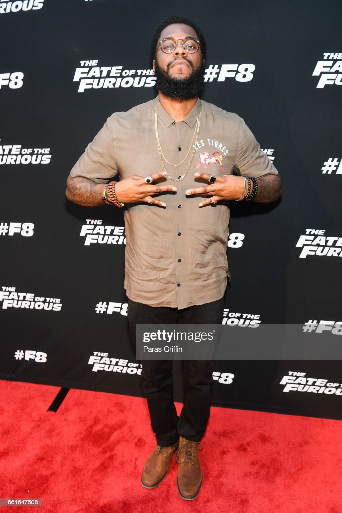 Big K.R.I.T attends 'The Fate Of The Furious' Atlanta red carpet screening at SCADshow on April 4, 2017 in Atlanta, Georgia.