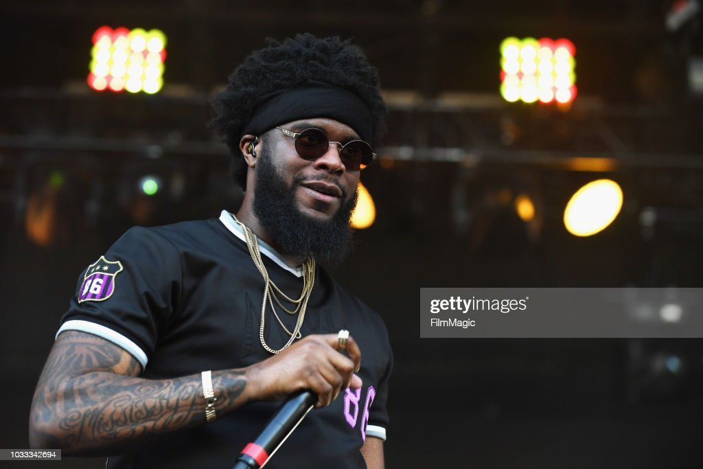 Big K.R.I.T. performs on the Paper Stage during day 1 of Grandoozy on September 14, 2018 in Denver, Colorado.