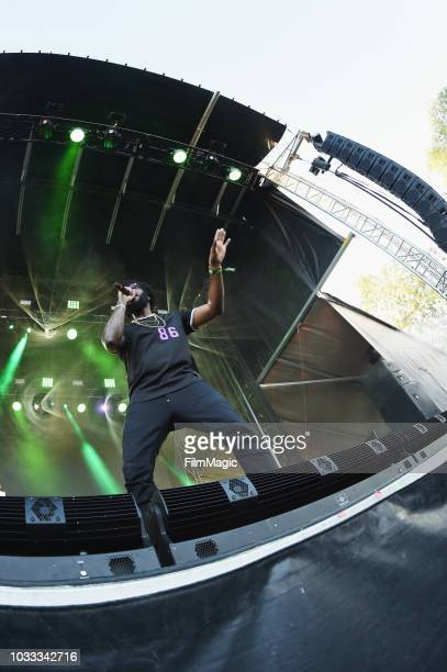Big KRIT performs on the Paper Stage during day 1 of Grandoozy on September 14 2018 in Denver Colorado