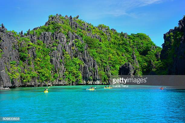 Big Lagoon in Palawan