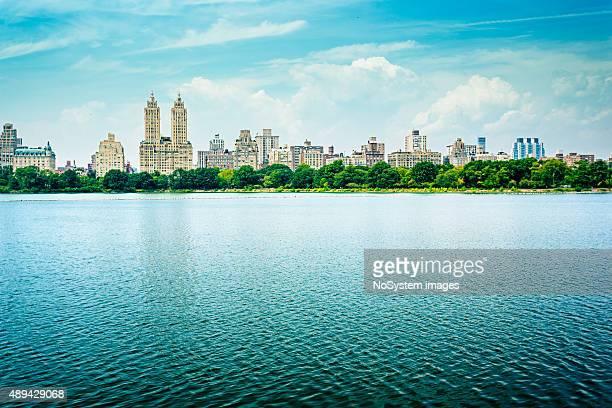 Große See im Central park, New York