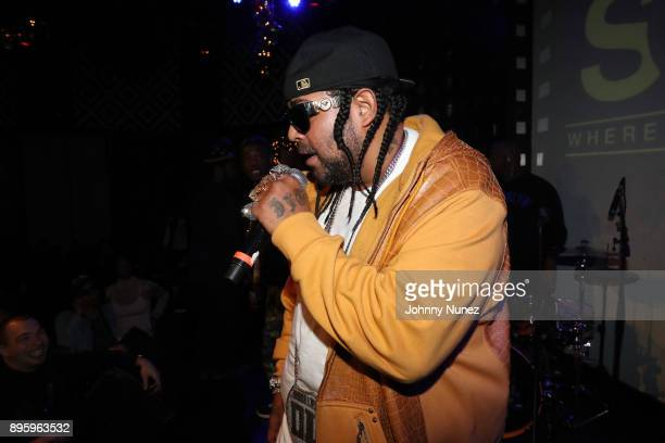 Big Leto performs at the 13 Sins Album Release Party at SOB's on December 19 2017 in New York City