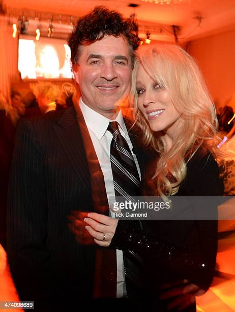 Big Machine Label Group President CEO Scott Borchetta and Sandi Spika Borchetta attend the official after party of the New Faces show presented by...