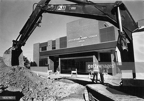 OCT 05 1978 OCT 6 1978 Big Machinery Gets The Scoop on Bank's Gasoline Problem Bancroft Fire Department officials watch progress of efforts aimed at...