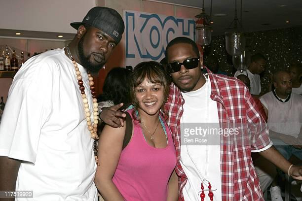 Big Marc of Da Backwudz, Marsha Meadows of Radio One, and Sho Nuff of Da Backwudz