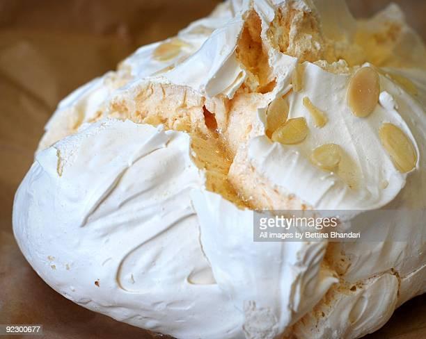 big meringue - meringue stock pictures, royalty-free photos & images