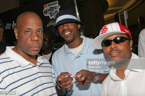 Big Mike Skip 2 My Lou and Alex Thomas during And1 Mixtape Tour Volume 9 Premiere at Mann's Chinese Six in Hollywood California United States
