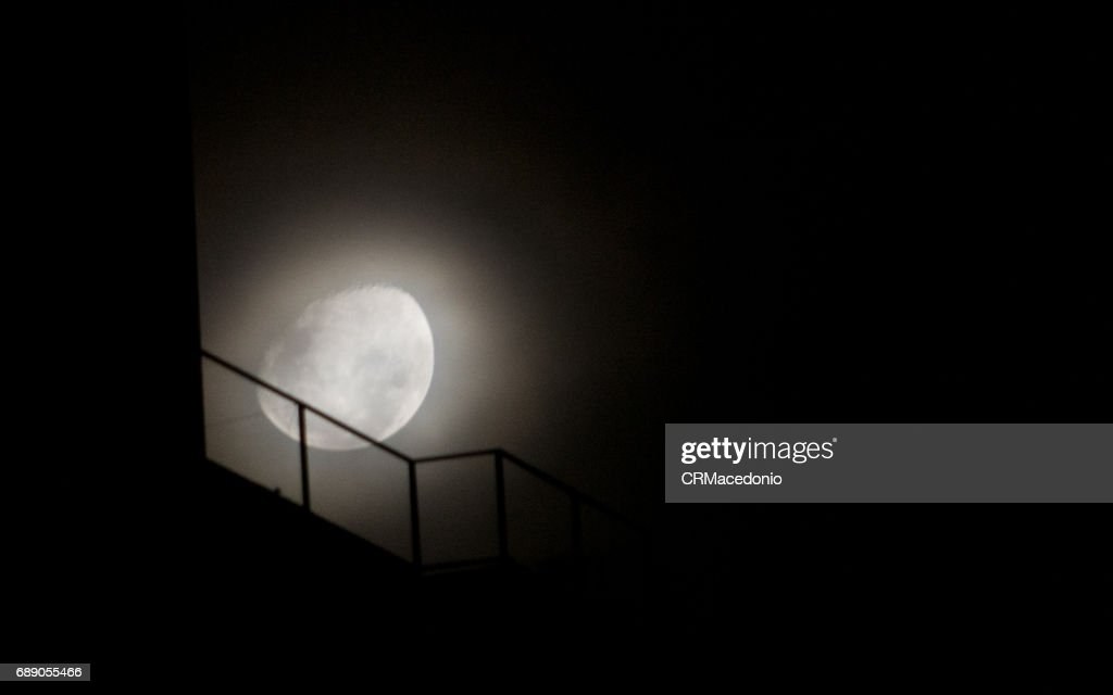 Big moon : Stock Photo
